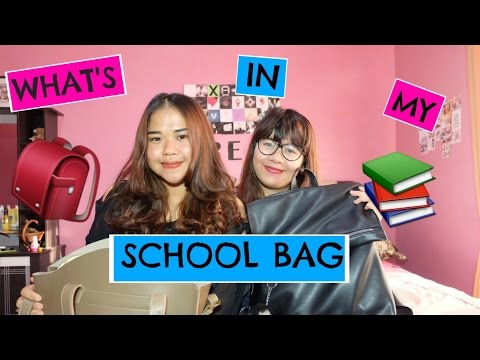 What's in my school bag 2016 ( BAHASA INDONESIA )   The Clavia