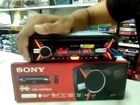วิธีการตั้งค่า CD MP3 SONY รุ่น CDX-G3170UV By พีวัน ระยอง โทร 093-0307767