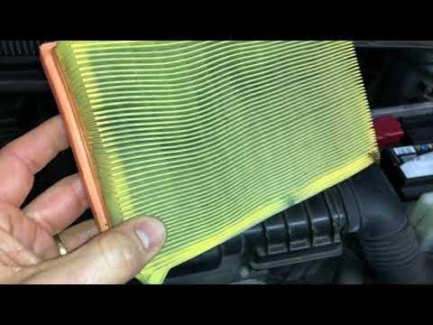 How to replace Air filter Suzuki Swift air filter replacement maintenance airfilter changing DIY
