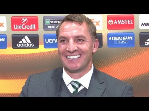 Celtic 1-0 Zenit St Petersburg - Brendan Rodgers Full Post Match Press Conference - Europa League