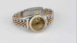 les montres Rolex Oyster Lady Réf 69173 d'occasion de demcoquartz.com