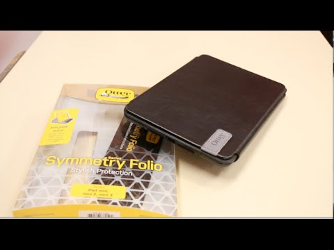 huge selection of a7c08 d0459 Ultimate Folio for iPad Mini 1, 2 & 3! - Otterbox Symmetry Folio Case -  Quick In-depth Review