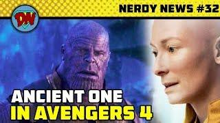 Ancient One Returns, Eternals Movie,  Avengers 4 New Actress, Doom Patrol, Venom   Nerdy News #32