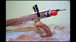 Repeat youtube video Wooden Speargun Homemade