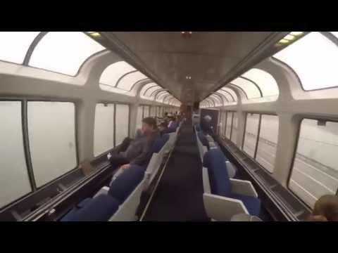Amtrak Empire Builder Observation Car