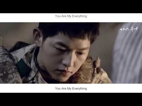 Gummy   You Are My Everything FMV Descendants Of The Sun OSTEng Sub + Rom + Han
