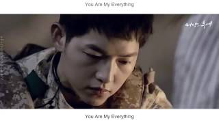Gummy   You Are My Everything FMV Descendants Of The Sun OSTEng Sub + Rom + Han Mp3