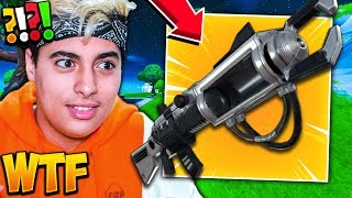 "This ""HACKER"" ME SUPREND WITH ""THE SECRET ARME"" NEVER SEEN ON FORTNITE! NO FAKE! (Zapotron Sniper)"