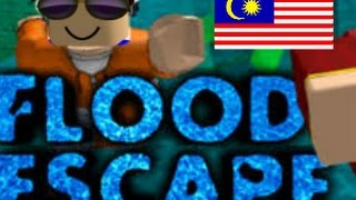 Cepatnya Air Naik!!!!! [Flood Escape] Roblox #Malaysia
