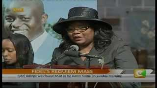 Fidel Odinga Requiem Mass Full Ceremony
