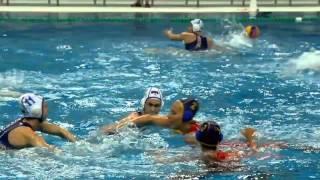 Матч мировой лиги по водному поло между женскими сборными России и Испании прошел в Рузе