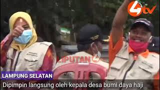 LIPUTAN4 TV. Pemdes Bumidaya Sedia Payung Sebelum Hujan Pada masa pandemik Covid 19