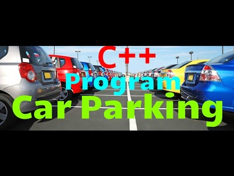 #9 PROJECT car parking program in c++ for beginners with source code simple c++ programs  Urdu/Hindi
