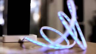 iPhone / Samsung / Blackberry Illuminated LED Charging / Sync. Cables