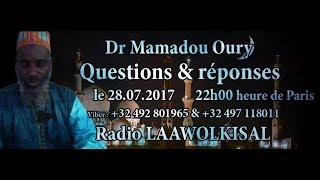 Baixar Questions & Réponses #13 radio laawol kisal - Dr. Mamadou Oury