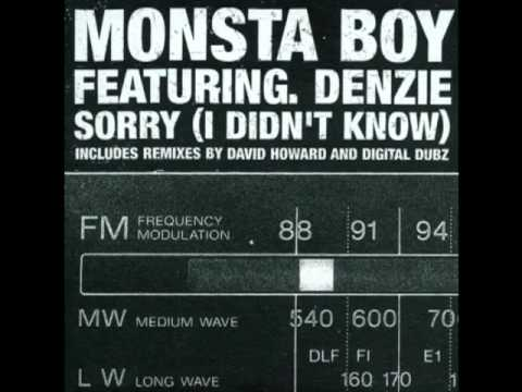 Monsta Boy Featuring Denzie - Sorry (I Didn't Know)