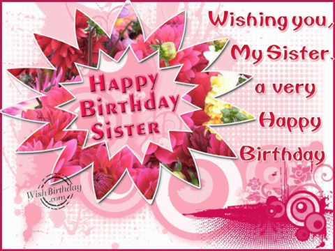 joyeux anniversaire ma soeur chanson