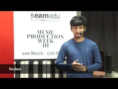 Seamedu - Music Production Week III (2017) - Pune
