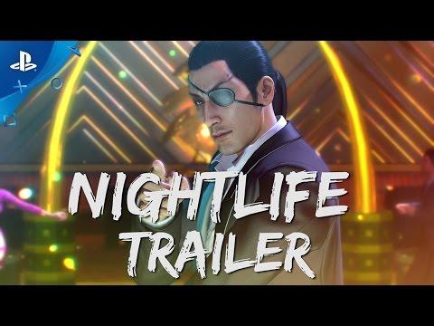 Yakuza 0 - Nightlife Trailer | PS4