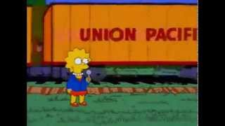 The Old Union Pacific Doesn't Come By Here Much Anymore... (The Simpsons)