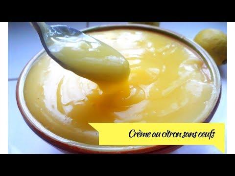 crÈme-au-citron-sans-Œufs---كريمة-الليمون-الرائعة-بدون-بيض-إقتصادية-و-خفيفة