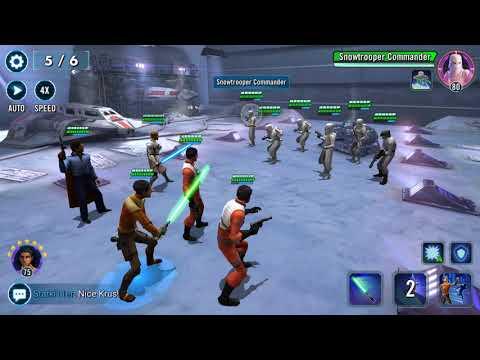 SWGOH Territory Battles - Weak Rebels 5/6 clear