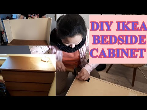 diy-bedside-cabinet-or-table-|-ikea-malm-cabinet