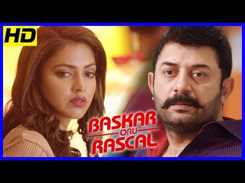 Bhaskar Oru Rascal Scenes | Amala Paul recollects her past to Baby Nainika | Arvind Swamy