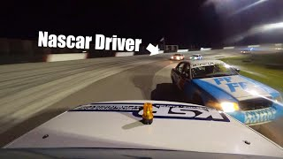Amateur Vs. NASCAR Driver! (Can we beat him!?) 2.4 Hours of Le Mullets!