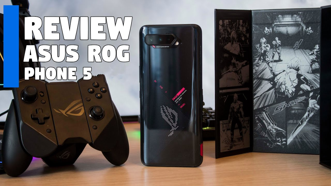 The ASUS ROG Phone 5 Review by Tanel