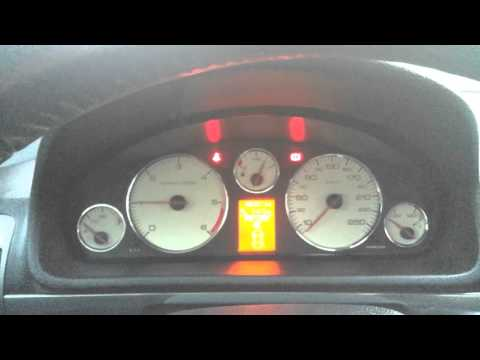 Peugeot 407 2.0HDi Cold start winter -17, odpalanie przy minus 17