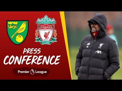 Jürgen Klopp's pre-match press conference | Norwich City