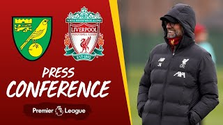 Jürgen Klopp's pre-match press conference | Norwich City