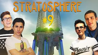 Minecraft | PAZZIE, EPIC FAIL E NUOVA ISOLA! Stratosphere #9 w/Stepny, Surreal & Vegas