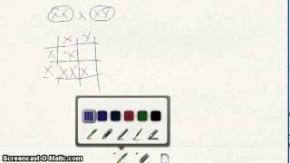 Videoforelesning krysningsskjema