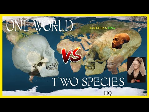 One World; Two Species; Tartarian DNA...We were never alone
