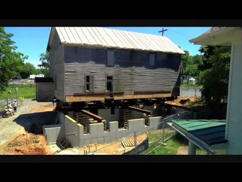 Darby Store: Moving a historic structure off the road