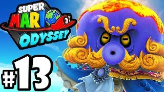 Super Mario Odyssey - Nintendo Switch Gameplay Walkthrough PART 13: Bubblaine Boss - Seaside Kingdom