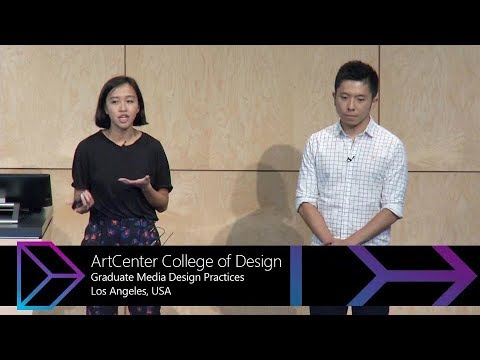 Design Expo 2017: ArtCenter College of Design, Graduate Media Design Practices