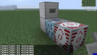 Туториал как сделать Телепорт и Лифт в Minecraft!