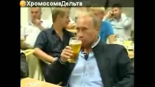 President of Russia drunk after US sanctions Президент России пьяный после санкций США