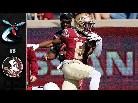 Delaware State vs. Florida State Football Highlights (2017)