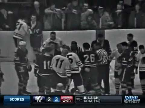 Bench-Clearing Brawl in Toronto (Dec. 7, 1963)