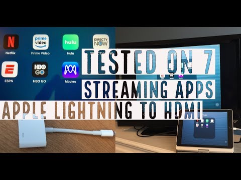 Apple Lightning To HDMI Adapter Tested On 7 Streaming Apps