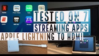 Gambar cover Apple Lightning To HDMI Adapter Tested on 7 Streaming Apps