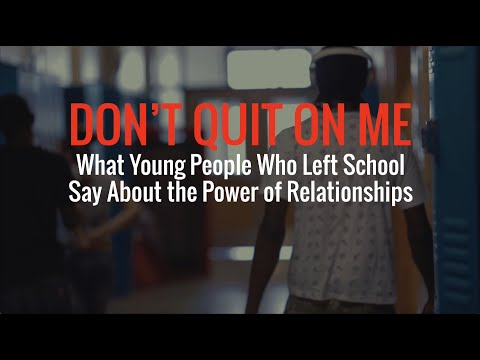 Don't Quit on Me: Mini Documentary