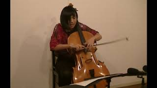 Rei MUNAKATA: Wink (2018) for cello solo
