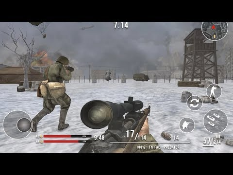 World War Winter Heroes Shooting (by 9 Pixels) Android Gameplay [HD]