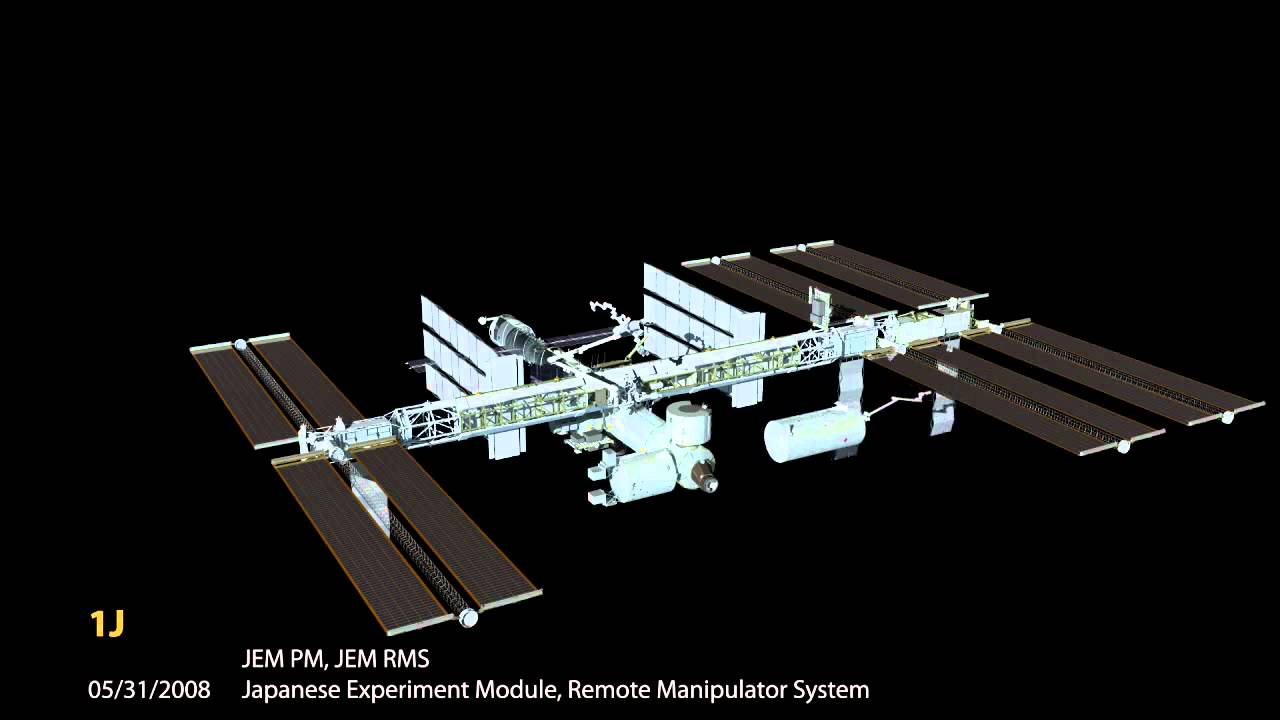 international space station assembly sequence - photo #5