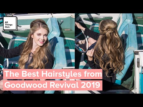 The Best Hairstyles from Goodwood Revival 2019 | Pin-up Hair thumbnail